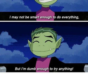 funny, tumblr, and beast boy image