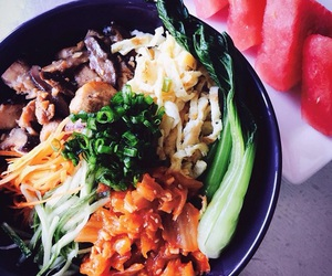 cooking, korean food, and home cook image