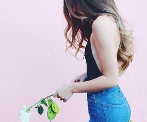 flowers, pink, and sierra furtado image