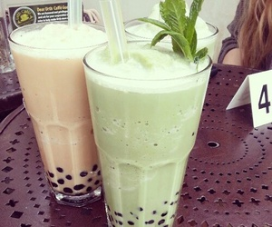 drink, food, and bubble tea image