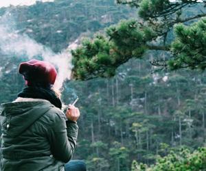 adventure, cigarette, and cold image