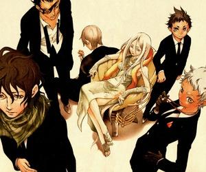 anime, deadman wonderland, and crow image