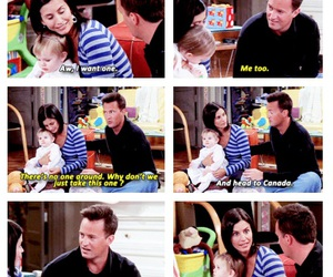 funny, friends, and baby image