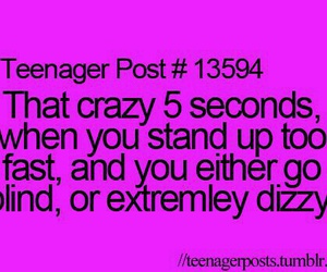 teenager post, dizzy, and true image
