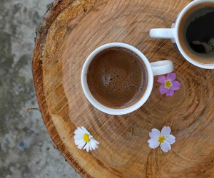 alternative, coffee, and flowers image