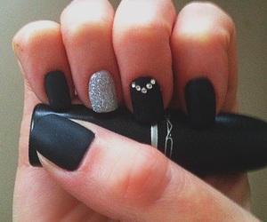 black, design, and matt image