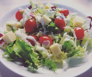 healthy, lunch, and salad image
