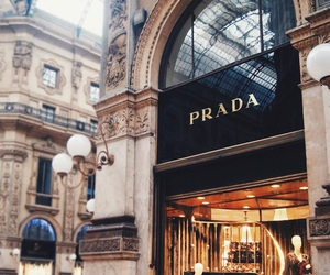 Prada, luxury, and shop image