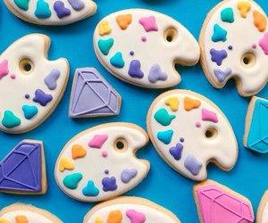 Cookies, food, and diamond image