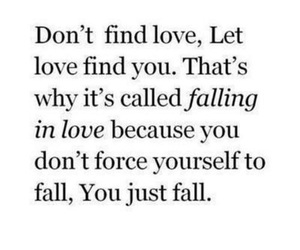 love, quote, and falling in love image