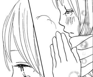 anime girl, cold, and cry image