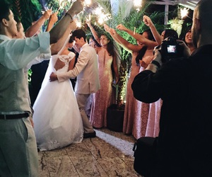 brazil, bride, and bridesmaids image