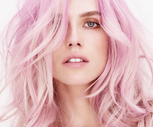 beauties, women, and think pink image
