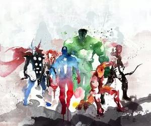 Avengers, art, and Hulk image