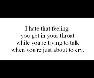 cry, sad, and feeling image