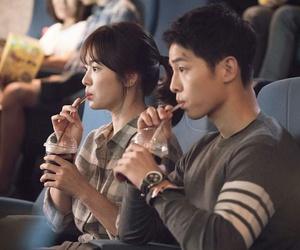 descendants of the sun, song hye kyo, and song joong ki image