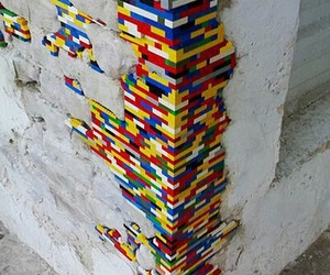 lego, art, and street art image