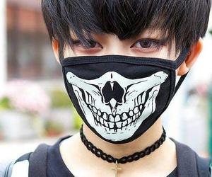 boy, mask, and asian image