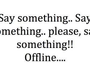 text, offline, and quote image