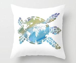 etsy, sea turtle, and cute turtle image