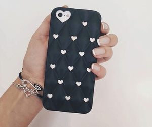 case, heart, and iphone image