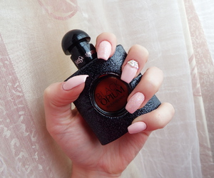 nails, YSL, and nailart image
