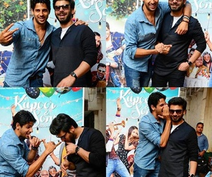 fawad khan, sidharth malhotra, and kapoor and sons image
