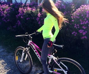 fit, bike, and fitness image