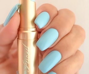 blue, beauty, and makeup image