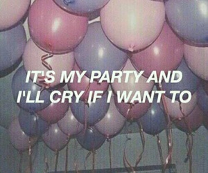 cry, my, and party image