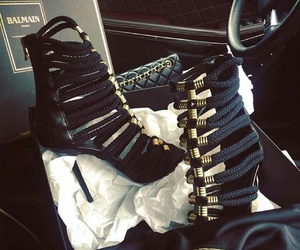Balmain, shoes, and fashion image