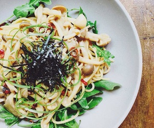 cooking, japanese food, and pasta image