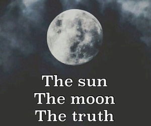 teen wolf, moon, and truth image