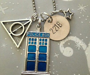 doctor who, sherlock, and harry potter image