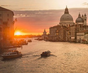 city, italy, and romantic image