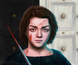 fanart, got, and arya stark image