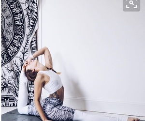 yoga, fitness, and healthy image