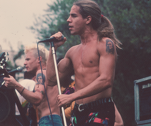 rhcp, red hot chili peppers, and anthony kiedis image