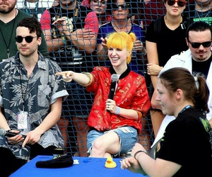 hayley williams, paramore, and taylor york image