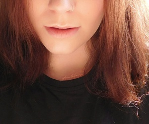 awesome, ginger, and make up image