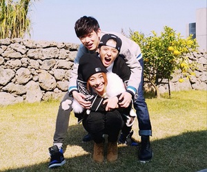amber, eric nam, and ailee image