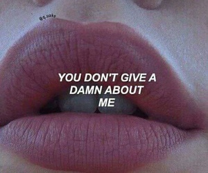 quotes, lips, and grunge image