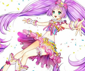 anime girl, beautiful, and puripara image