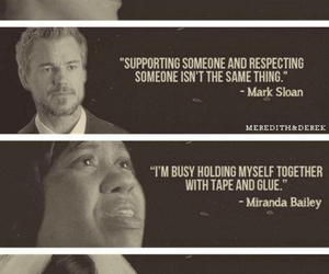 grey's anatomy, quote, and mark sloan image
