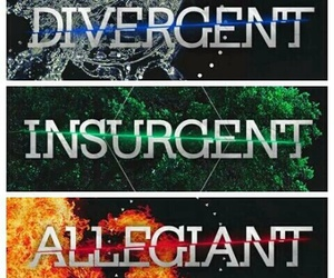 insurgent, experiment, and divergent image