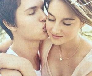 love, kiss, and Shailene Woodley image