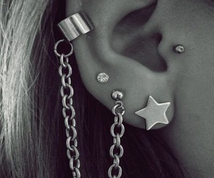 piercing and ear piercings image
