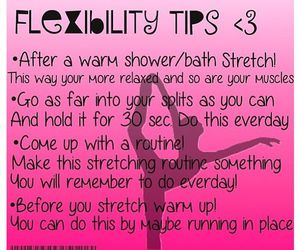 fitness, flexibility, and tips image