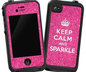 keep calm, pink, and cases image