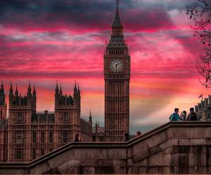 city, colors, and london image
